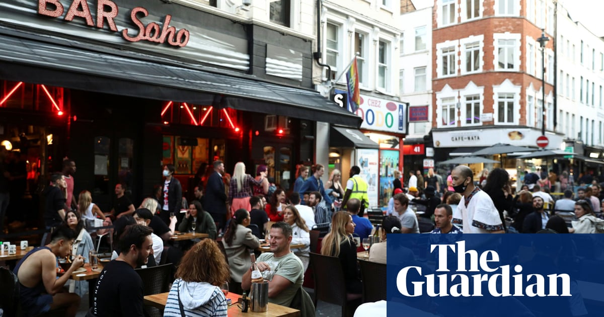 UK towns and cities to make room for return of alfresco dining