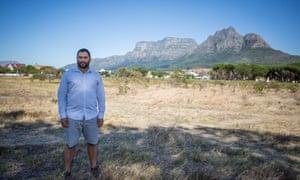 Rupert Koopman, botanist at Cape Nature, Cape Town, South Africa