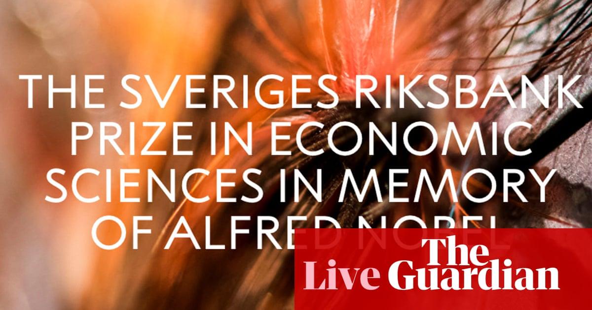 Nobel Prize in Economic Sciences to be awarded – live