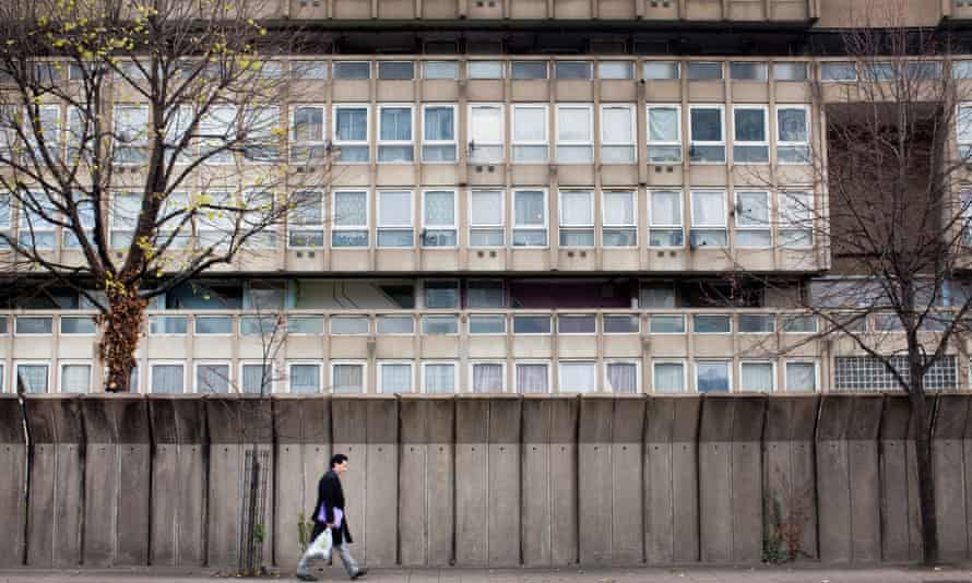 'Many British housing estates are now surrounded by gates and high, forbidding fences.'