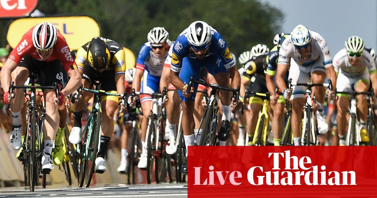 Tour de France 2018  Fernando Gaviria wins stage four in sprint – as it  happened  30ff96d62