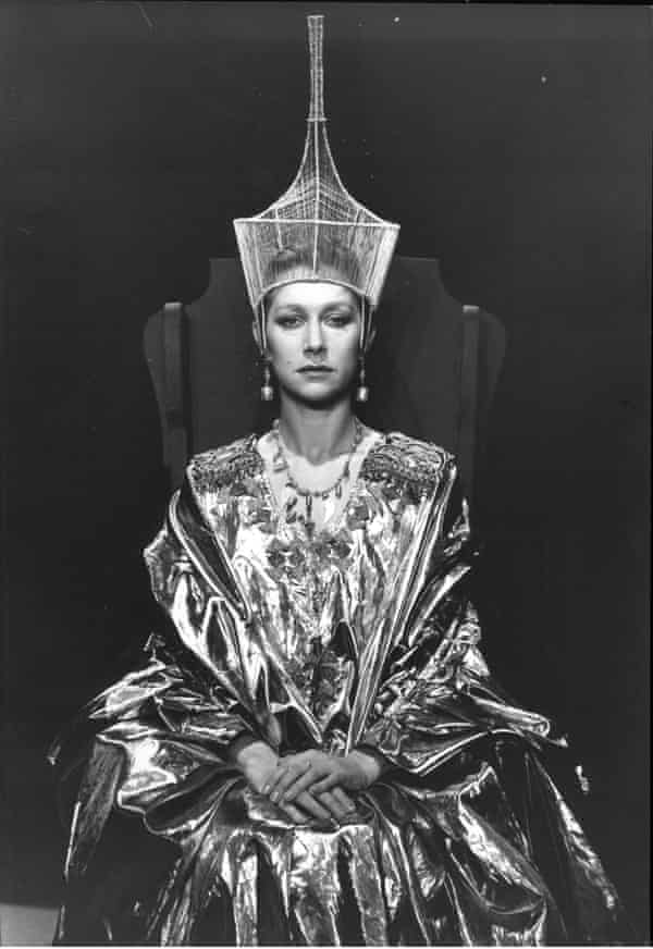 Majestic presence ... as Cleopatra in 1982.