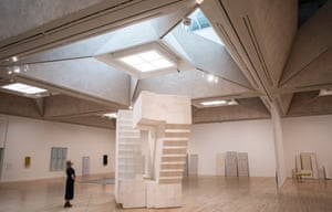 'Like the flights of steps in trapped dreams': Untitled (Stairs), 2001 by Rachel Whiteread at Tate Britain.