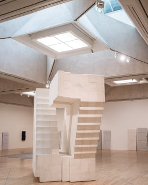 Untitled (Stairs) by Rachel Whiteread.