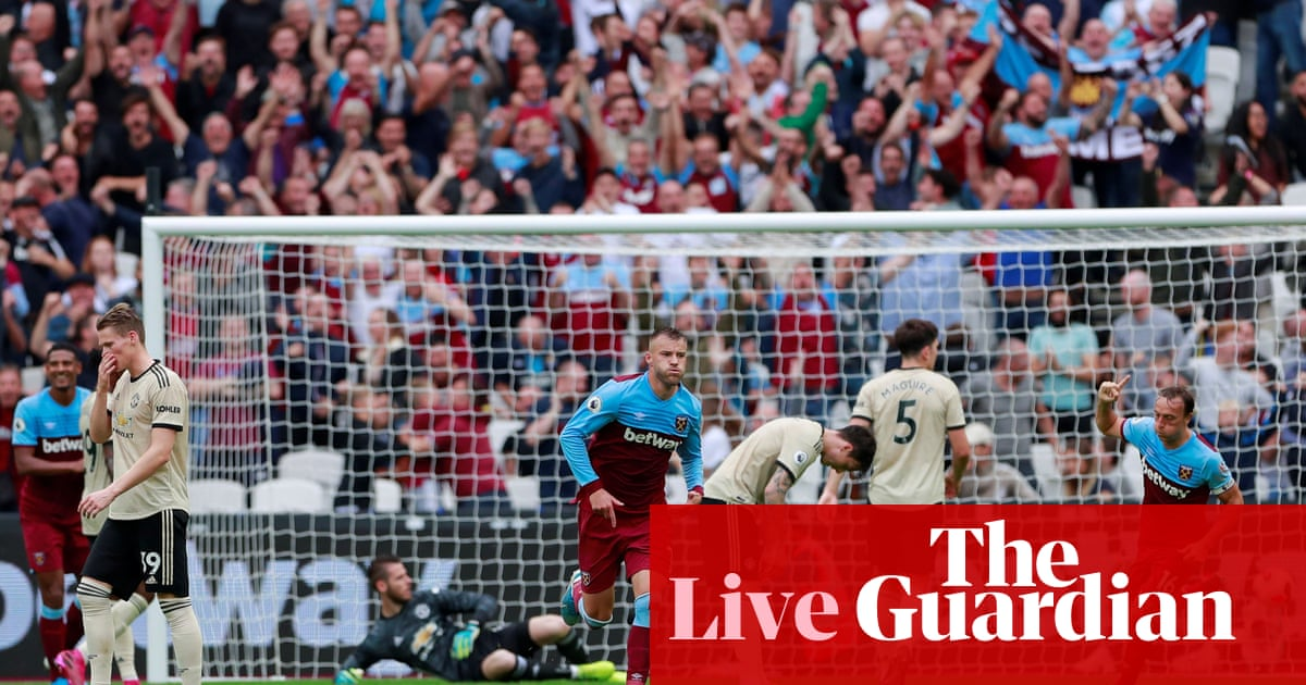 West Ham v Manchester United: Premier League – live!