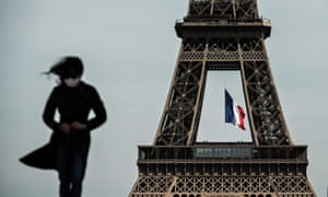 The Eiffel Tower in Paris back in May, when France began to ease lockdown measures.