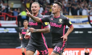 Kalvin Phillips (left) and Pablo Hernández are two key parts for Marcelo Bielsa at Leeds.
