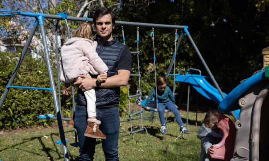 Misha at his home