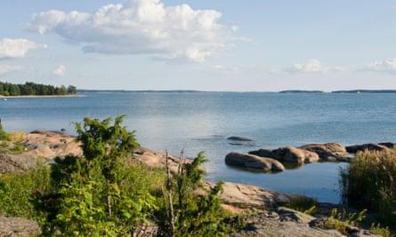 Sea View from Ruissalo, FinlandCN2K2D Sea View from Ruissalo, Finland