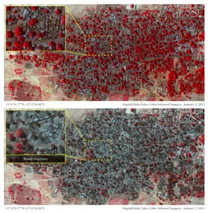 Satellite images Nigeria.