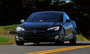 The latest software for the Tesla Model S gives it auto pilot capability