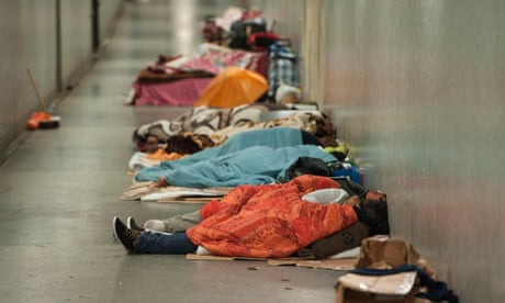 Homeless denied social housing for being too poor, study says