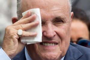 It's getting hot out here. Rudy Giuliani
