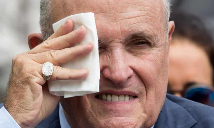 On Friday the president had said he didn't know if Rudy Giuliani was his personal attorney.