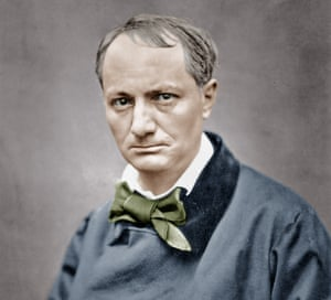 Charles Baudelaire photographed by Etienne Carjat c1866.