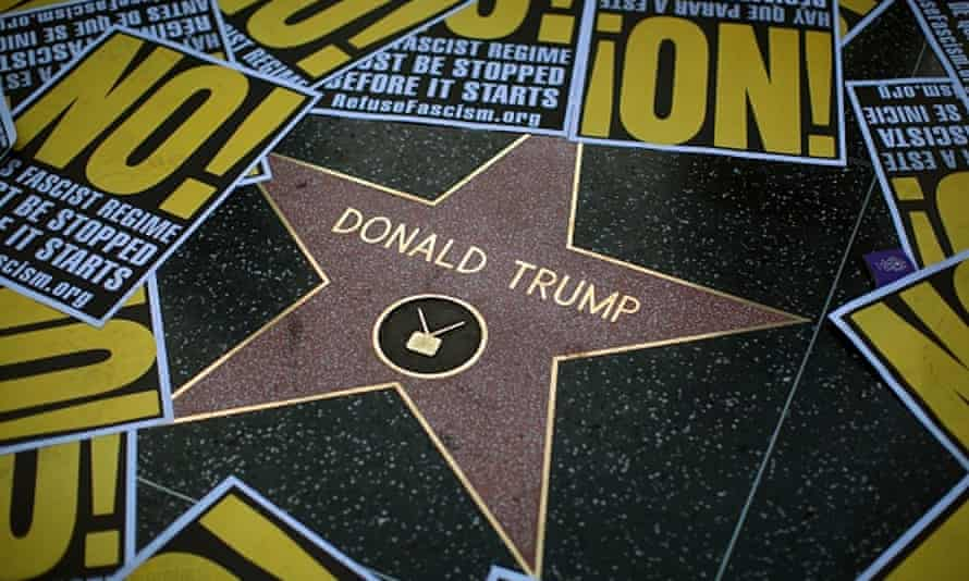 Donald Trump and Hollywood: a complicated relationship.