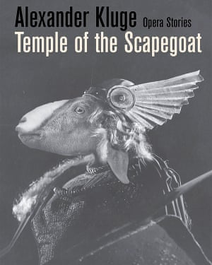 Book cover for Temple of the Scapegoat by Alexander Kluge.