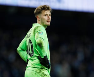 It's been a busy old night for Burton Albion keeper Bradley Collins.