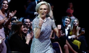 Mary Berry at National Television Awards