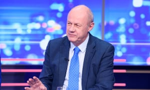 Tory MP Damian Green on TV news programme.