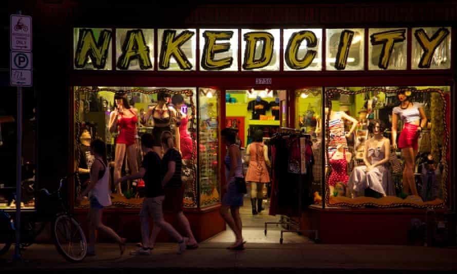 Naked City Clothing on Hawthorne Boulevard.