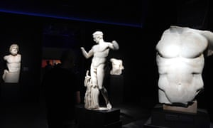 The exhibition features 340 antiquities from the collections of the National Archaeological Museum of Athens