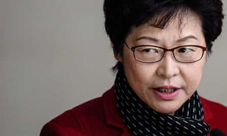 Hong Kong's chief executive-elect Carrie Lam.