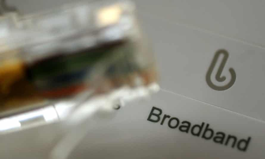 Broadband cable and router