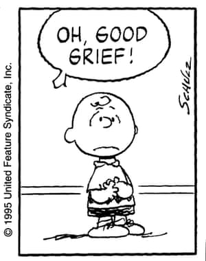 Charlie Brown: existential pain.