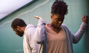 Marriage meltdown … Gershwyn Eustache Jr (B) and Lashana Lynch (A) in a profoundly affectionate, passionate devotion to someone (-noun).