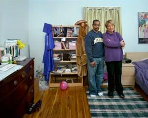 Parents Kathy and Lyonel
