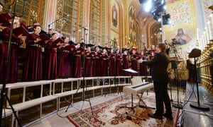 the Patriarch Choir of Christ the Saviour Cathedral, Moscow