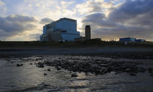 Hinkley Point B and A nuclear power stations