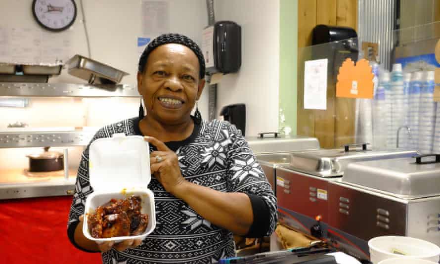 Beef BBQ cooked by Elizabeth Brazelton at Soul Ful Deli Depot inside a Pride garage, Fairhope.