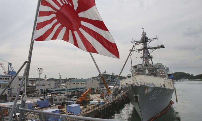 Japan pulls out of naval drills over demands it remove
