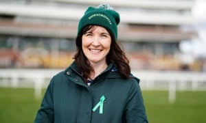 Debbie Williams says racecourses can be overwhelming places, and that owners should look at providing areas that offer respite from the noise and confusion.
