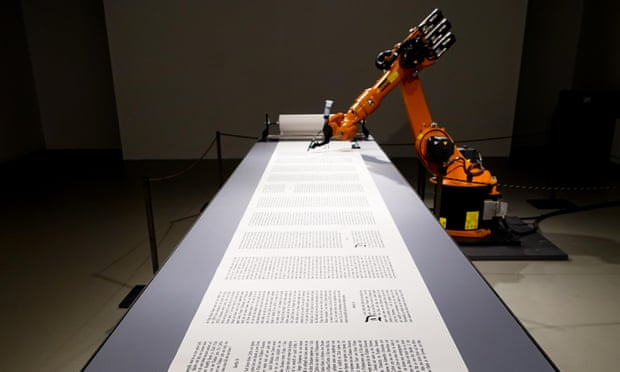 theguardian.com - Steven Poole - The rise of robot authors: is the writing on the wall for human novelists?