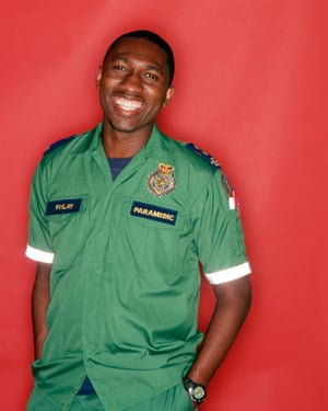 Kwame as Finlay Newton in Casualty