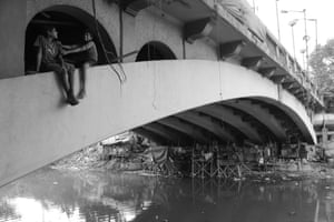 Young Photographer winner Bhar Dipayan Families are living under the bridge