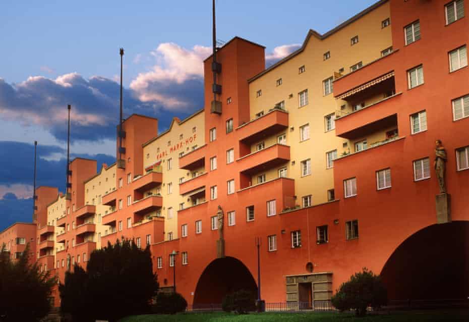 Karl-Marx Hof is one of the superblocks built in Vienna for 'orderly worker families'.
