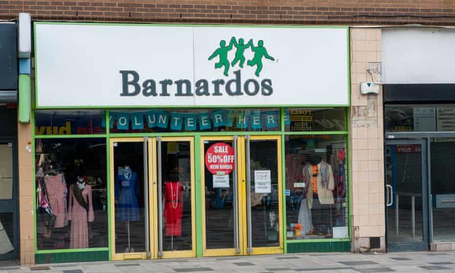 A Barnardo's shop in Slough, Berkshire