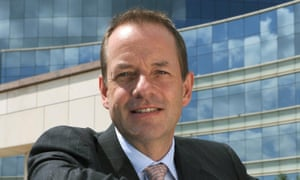 Outgoing CEO Sir Andrew Witty.