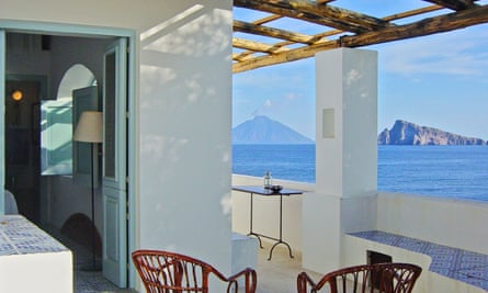 A Picciridda, Panarea, Messina, Sicily, from Sawday's Italy collection
