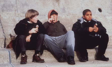 Paddy Considine's film debut A Room for Romeo Brass, directed by Shane Meadows.