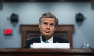 Christopher Wray testifed before Congress on Thursday.
