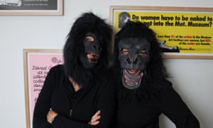 Culture jammers … the Guerrilla Girls.