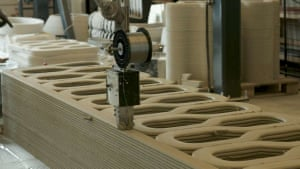 The 3D printing technology allows the contruction of to take 'almost any shape'