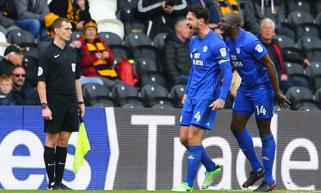 Sean Morrison's double sees off Hull as Cardiff close in on promotion