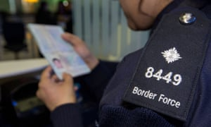 A Border Force officer