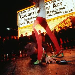 Guy Bourdin: Charles Jourdan Advertising Campaign, spring 1968